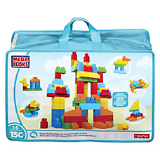Mega Bloks Deluxe Building Blocks Bag
