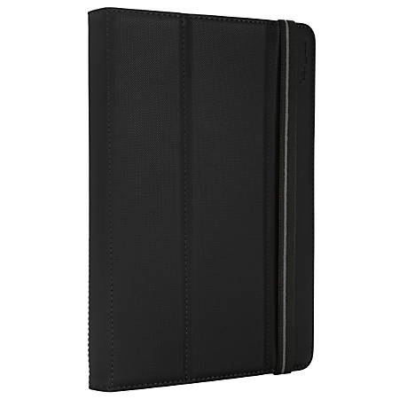 """Targus® Fit N' Grip Carrying Case For 7"""" to 8"""" Tablet, Black, THZ590US"""