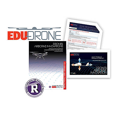 Airborne Innovations Drones Curriculum Subscription, 1,500+ Students