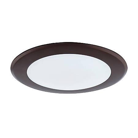 Luminance LED Disk Light, 15 Watts, 4000K/Cool White, 1200 Lumen, White Trim