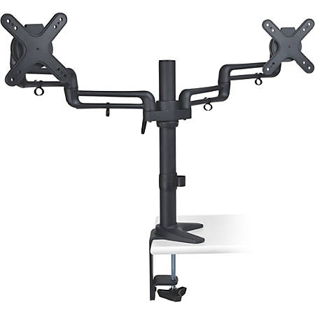 "Tripp Lite Dual Display Flex Desk Mount Clamp 13"" to 27"" Monitors"