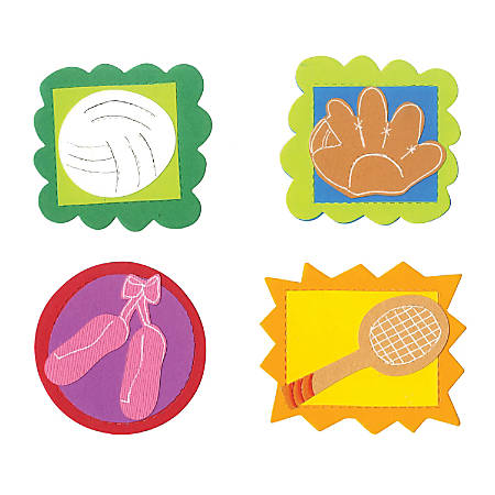 Sizzix® Bigz™ Dies, Badge, Icons #5 By Laura Kelly