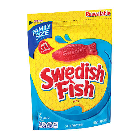 Swedish Fish, 1.9 Lb Bag