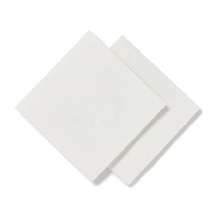 """Medline Deluxe Dry Disposable Washcloths, 12 1/2"""" x 13"""", White, Pack Of 90 Washcloths, Case Of 12 Packs"""