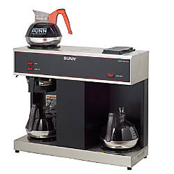 Bunn Vps 12 Cup Pour O Matic Coffee Brewer Office Depot