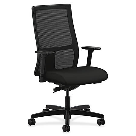 HON Ignition Mid-Back Task Chair, Black
