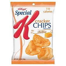 Kelloggs Special K Cracker Chips Cheddar