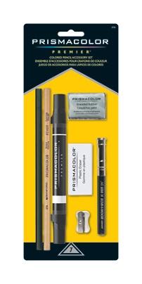 Prismacolor Premier 7 pc Colored Pencil Accessory Set Kit Free Standard Shipping