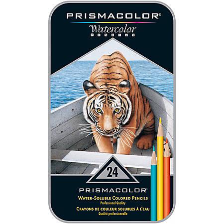 Prismacolor® Premier Watercolor Pencils, Pack of 24