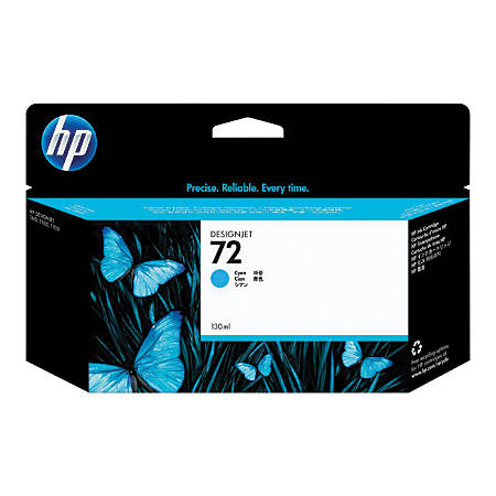 HP 72 Cyan Ink Cartridge (C9371A)
