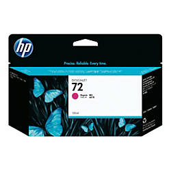 HP 72 Magenta Ink Cartridge C9372A