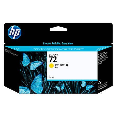 HP 72 Yellow Ink Cartridge (C9373A)