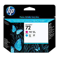 HP 72 CyanMagenta Printhead C9383A