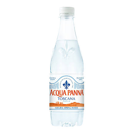 Acqua Panna Premium Still Water, 16.9 Oz, Case Of 24