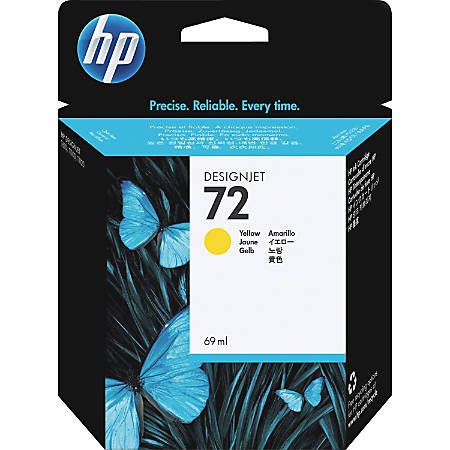 HP 72 Yellow Ink Cartridge (C9400A)