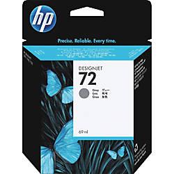 HP 72 Gray Ink Cartridge C9401A
