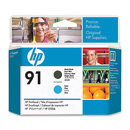 HP C9460A, Matte Black/Cyan Printhead