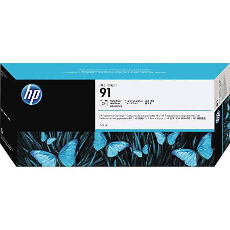 HP 91 (C9465A) Pigment Photo Black Ink Cartridge