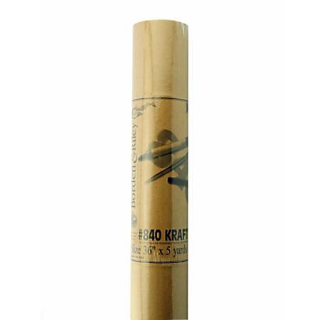 "Borden & Riley #840 Kraft Paper, 36"" x 15', Roll, Brown, Pack Of 2"