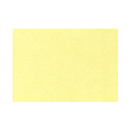 """LUX Flat Cards, A6, 4 5/8"""" x 6 1/4"""", Lemonade Yellow, Pack Of 50"""