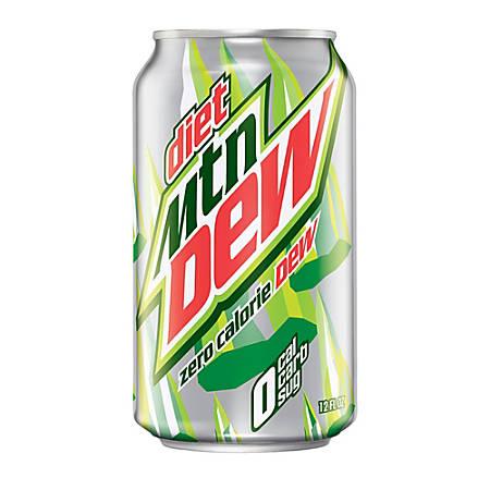 24 pk. new! Mountain Dew Mini Can