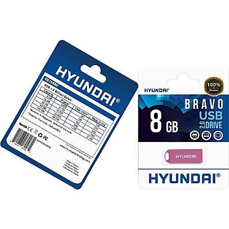 Hyundai 8GB Bravo USB 2.0 Flash Drive