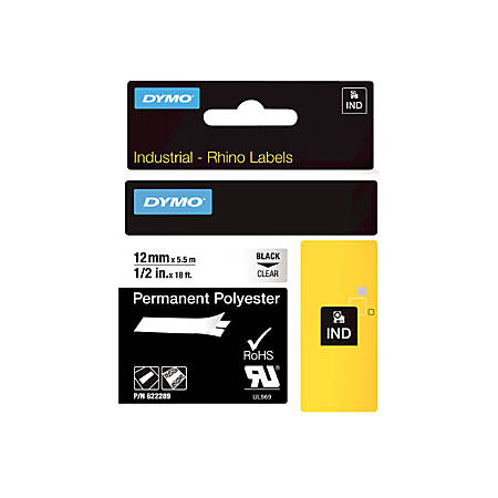 DYMO® RhinoPro Thermal Label, Q42969