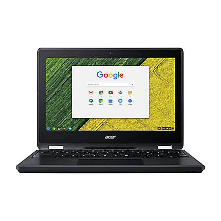 "Acer® Spin 11 Refurbished 2-In-1 Chromebook, 11.6"" Touch Screen, Intel® Celeron®, 4GB Memory, 32GB Flash Storage, Google™ Chrome OS, NX.GNJAA.002"