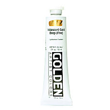 Golden Acrylic Paint 2 Oz Iridescent