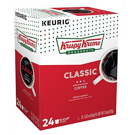 Krispy Kreme Doughnuts Smooth Medium Roast Coffee K-Cup® Pods, 2.8 Oz, Pack Of 24 Pods