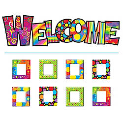 TREND Razzle Dazzle Welcome Bulletin Board