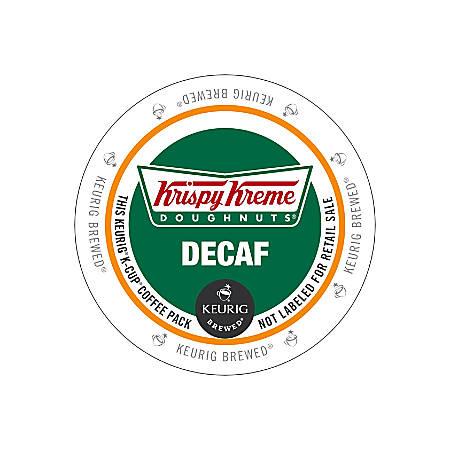 Krispy Kreme Doughnuts® Decaffinated Coffee K-Cups®, 2.8 Oz, Box Of 24