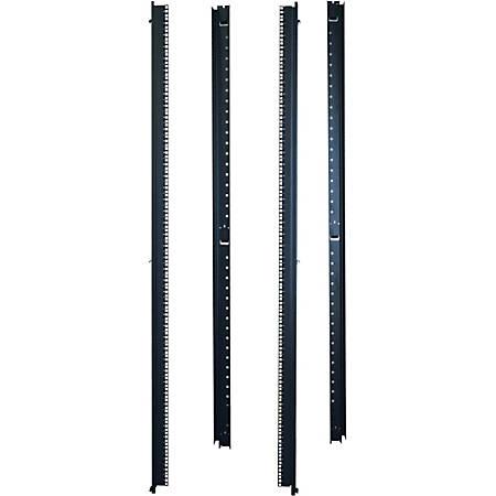 "Tripp Lite 42U Rack Enclosure Server Cabinet 23"" Wide Vertical Rail Mount"