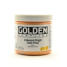 Golden Acrylic Paint Fine 16 Oz