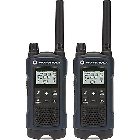 Motorola Talkabout T460 Two-way Radio - 22 Radio Channels - 22 x GMRS/FRS, UHF - Upto 184800 ft - Auto Squelch, Hands-free, Keypad Lock, Timer - Weather Proof - Nickel Metal Hydride (NiMH)
