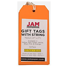 JAM Paper Gift Tags 4 34