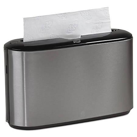 Tork® Xpress® Countertop Towel Dispenser, Black/Stainless Steel