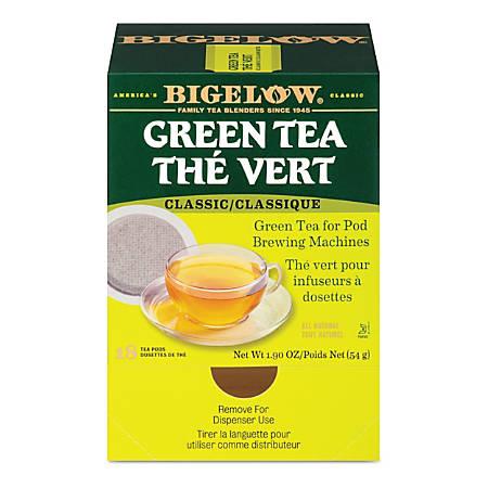 Bigelow Green Tea Pods, 1.9 Oz, Box Of 18 Pods