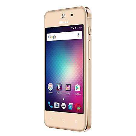 BLU Vivo 5 Mini V050Q Cell Phone, Gold, PBN201172