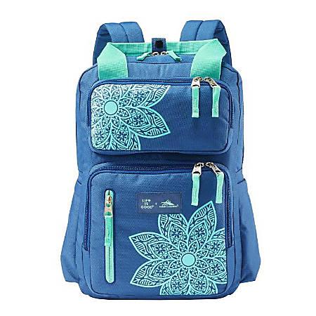 Life Is Good Mandala Backpack, Vintage Blue