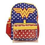 Wonder Woman 5-Piece Backpack Set, Blue