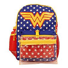 Wonder Woman 5 Piece Backpack Set