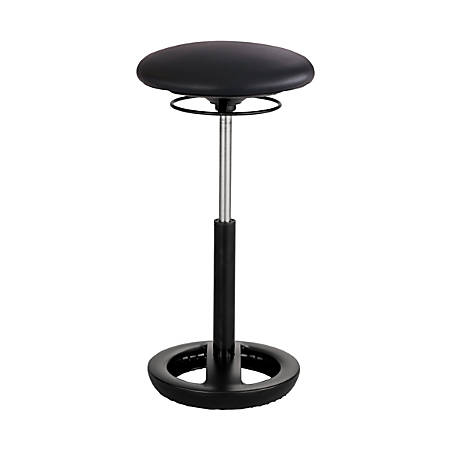 Safco® Twixt® Active Ergonomic Chair, Extended Height, Black