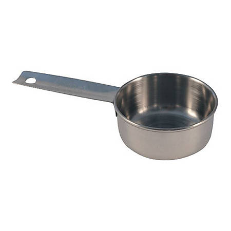 Tablecraft Stainless Steel Measuring Cup, 1/4 Cup