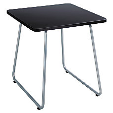 Safco Anywhere End Table BlackSilver
