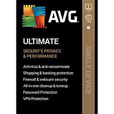AVG Ultimate 2020 1 Device 1