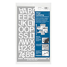 Chartpak Pickett Vinyl Letters And Numbers