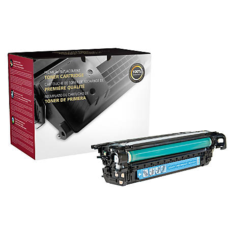 Clover Technologies Group™ 200790P (HP 653A / CF321A) Remanufactured Cyan Toner Cartridge