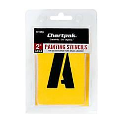 Chartpak Pickett Painting Stencils NumbersLetters 2