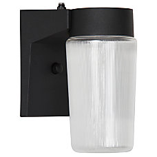 Luminance LED Cylinder Porch Fixture With